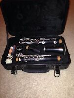 USED Selmer omega Clairnet with hard shell case