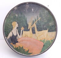 Art Deco Vintage Sunshine Biscuits Advertising Tin Loose Wiles Biscuit Co