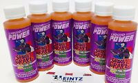 Power Plus Lubricants 6 PACK Groovy Grape Fuel Fragrance For Car Motorcycle ATV