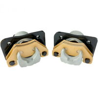 New Left Right Front Brake Calipers  For 2002-2014 Arctic Cat 400 ATV With Pads