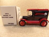 New 1989 ERTL Diecast 1913 Model T Deliver Bank Pirelli Armstrong Tire Corp