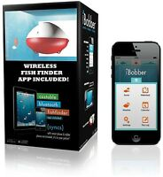 Wireless Bluetooth Sonar Fish Finder Compatible with iOS Android 135 FT DEPTH