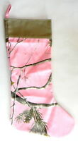Cabela's Realtree Pink Zonz Woodlands Camouflage Christmas Stocking 16 in
