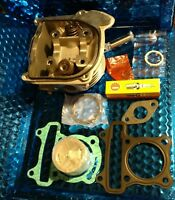 E-TON 4 stroke 70cc or 90cc Piston & Cylinder Head Complete with gaskets