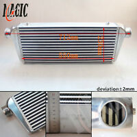 Universal bar plate Intercooler FMIC Aluminum Inter cooler Inlet Outlet 2.5quot; $166.39