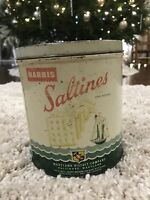 Vintage Advertising Tin: Marbis Saltines, Maryland Biscuit Co., Cracker Tin