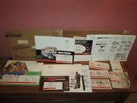 Big Lot of Winchester Advertising Items Cardboard Display Sweepstakes Forms