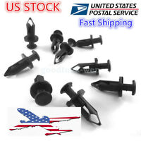 200 x PCS ATV Retainer Clips 8mm Push Pin Splash Guard Body Panel Fit For Honda