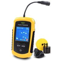 Lucky  Fish Finders Alarm 100M Portable Sonar LCD Fishing Lure Bait Echo Carp