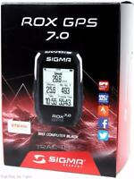 Sigma ROX 7.0 GPS Wireless Bicycle Computer Altimeter Hiking Strava Compatible