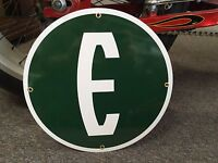 classic EDSEL porcelain SIGN - ford motor company - rare reproduction
