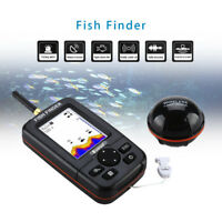 Portable 45M Handheld Fish Finder Wireless Sonar Sensor River Sea Fish Detector