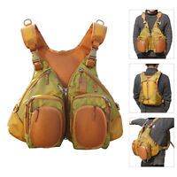 Fly Fishing Backpack & Vest Combo Fly Fishing Vest Pack With Hard Shell Storage