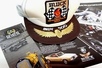 Riviera 1983 Indianapolis 500 Pace Car Convertible NOS Dealer Hat Indy Poster
