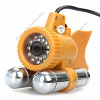 24PCS White LEDS 50M Underwater ICE Fishing Camera 600TVL CCD 92° Fishfinder