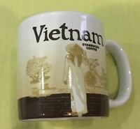 Starbucks VIETNAM (Global Icon) Demitasse 3 oz Mug Ornament NEW