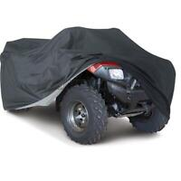 XL Black ATV Quad DUST Cover Fit For Honda Rancher TRX 350 400 420 FE FM TE TM