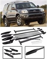 For 04-09 Toyota 4Runner Complete Set Roof Rail Rack Cross Bar Luggage Carrier