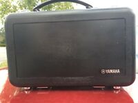 Yamaha clarinet comes with a hard case. In very good condition.