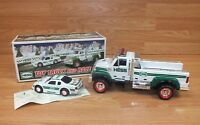 Genuine Hess 2011 Light Up Collectible Truck and Race Car Toy Only **READ**