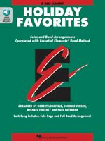 Essential Elements Holiday Favorites Bb Bass Clarinet Book and Audio 000870009