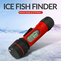 Portable Sonar Ice Fish Finder Wireless Echo Sounder 0.8-90m Depth Digital