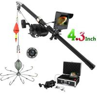4.3quot; Monitor Underwater Fishing Video Camera 20M IR LED Explosion fishing hooks