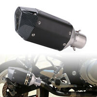 Universal Motorcycle ATV Short Exhaust Pipe Muffler Removable Silencer 38-51mm