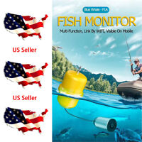 New Wifi Fish Finder Wireless Underwater HD Camera Fishing Detector Logger