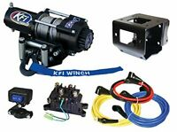 2500 lb KFI Winch Combo Polaris Sportsman 550 850 XP & 2011-2018 400 500 570 800