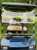 Folding Acrylic Tinted Windshield for 1982-2000.5 Club Car DS Golf Cart
