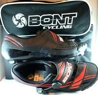 BONT A3MMBR Microfiber Cycling Shoes EU 40 Mens 6.5