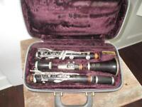 Vintage 1966 U Series 9 Selmer Paris Clarinet W/ Case 1 Owner