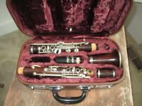 Vintage 1931 Rare Buffet Wood Clarinet 22 3/8