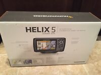 Humminbird 409610-1 Helix 5 Fish finder with GPS Brand New