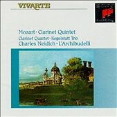 MOZART: CHAMBER MUSIC WITH CLARINET CD BY  NEW SEALED