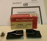 Redfield 514126 See Thru 2Pc Scope Mount Bases Remington 740 721 725 ST-700 LASA