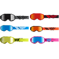 Fly Racing Zone Youth Kids MX Motocross Offroad ATV Goggles