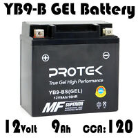 YB9-B 12N9-4B-1 YB9-BS 12V Sealed Maintenance Free GEL Battery 9Ah ATV UTV PWC