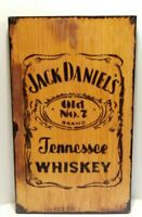 Jack Daniels Old No.7 Tennessee Whiskey~ Custom Made Wood Sign~