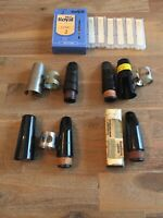 4 Clarinet Mouthpiece Lot + Reeds Selmer Elkhart 3 HS* Brilhart Nilo B3 Blank #2