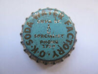RARE CROWN SEAL BOTTLE CAP OK SODA WATER FACTORY SUVA St FIJI POSSIBLY UNCRIMPED