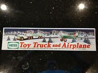 NEW 2002 Hess Toy Truck And Airplane MIB w/Bag