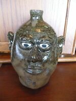 Lanier Meaders Pottery Face Jug - White County, GA - 10