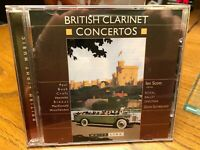 British Clarinet Concertos (CD, Apr-2003, White Line)