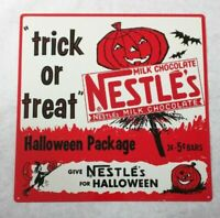 Nestle's Halloween trick or treat  Home Decor New Metal sign 12x12
