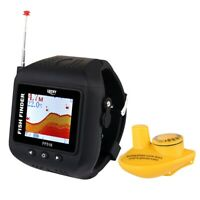Wireless Sonar Watch Type Fish Finder Portable Echo Fishing Sounder