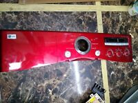 LG CONTROL PANEL FACE PLATE MGC373538 Dryer Model DLG2303R Wild Cherry Red $55.98