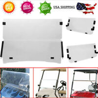 Golf Cart Tinted Foldable Windshield For EZGO RXV Golf Cart Parts 2008-UP USA