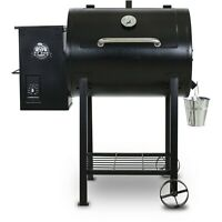 Wood Fired Pellet Grill w/ Flame Broiler Pit Boss 700FB